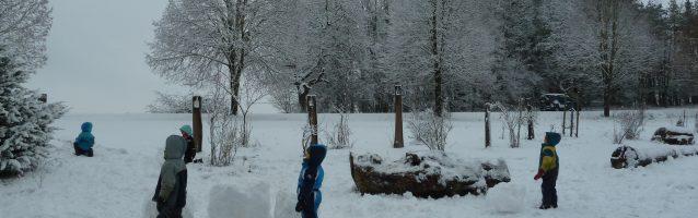 Nur einen Tag Schnee…